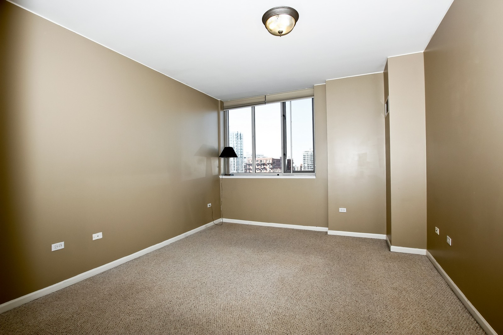 Real Estate Photography - 1515 S. Prairie Ave., 717, Chicago, IL, 60605 - Master Bedroom