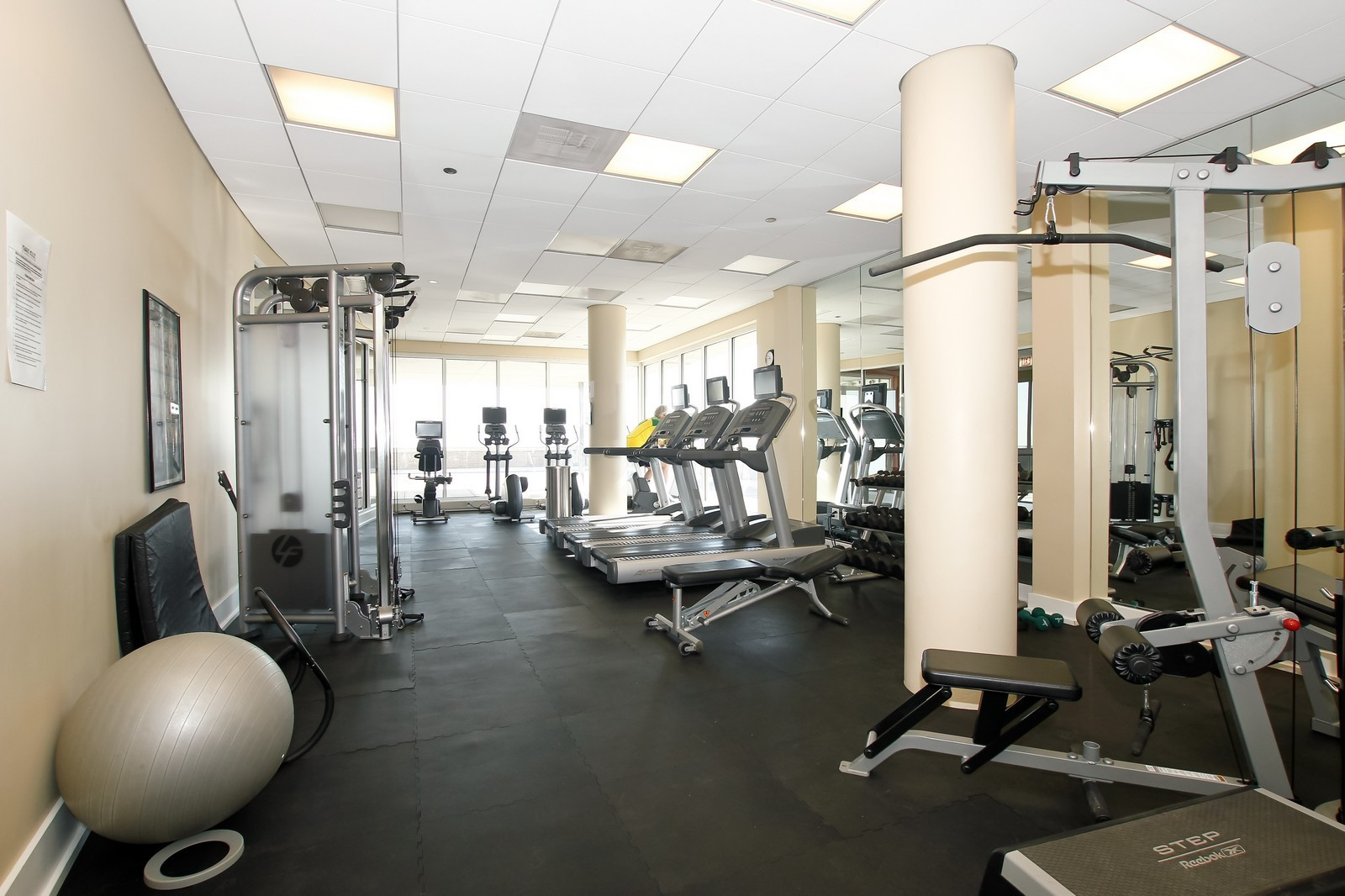 Real Estate Photography - 1515 S. Prairie Ave., 717, Chicago, IL, 60605 - Gym