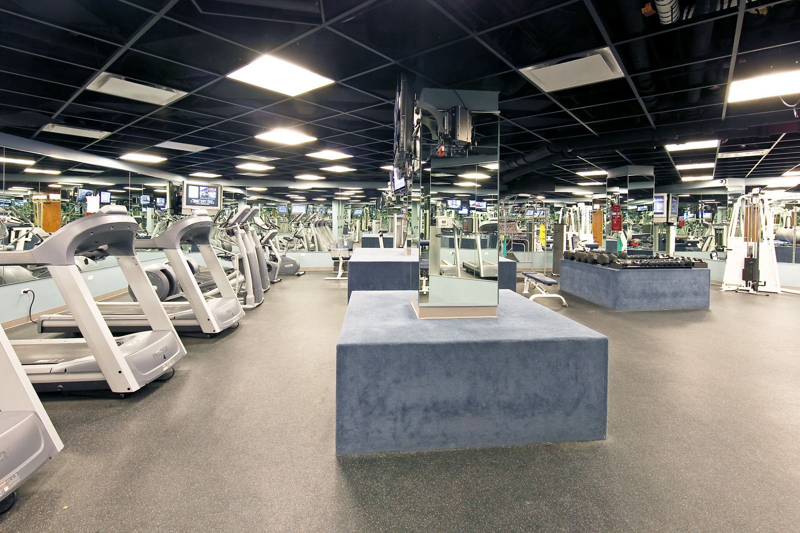 Real Estate Photography - 1400 N Lake Shore Drive, 16E, Chicago, IL, 60610 - Fitness Center