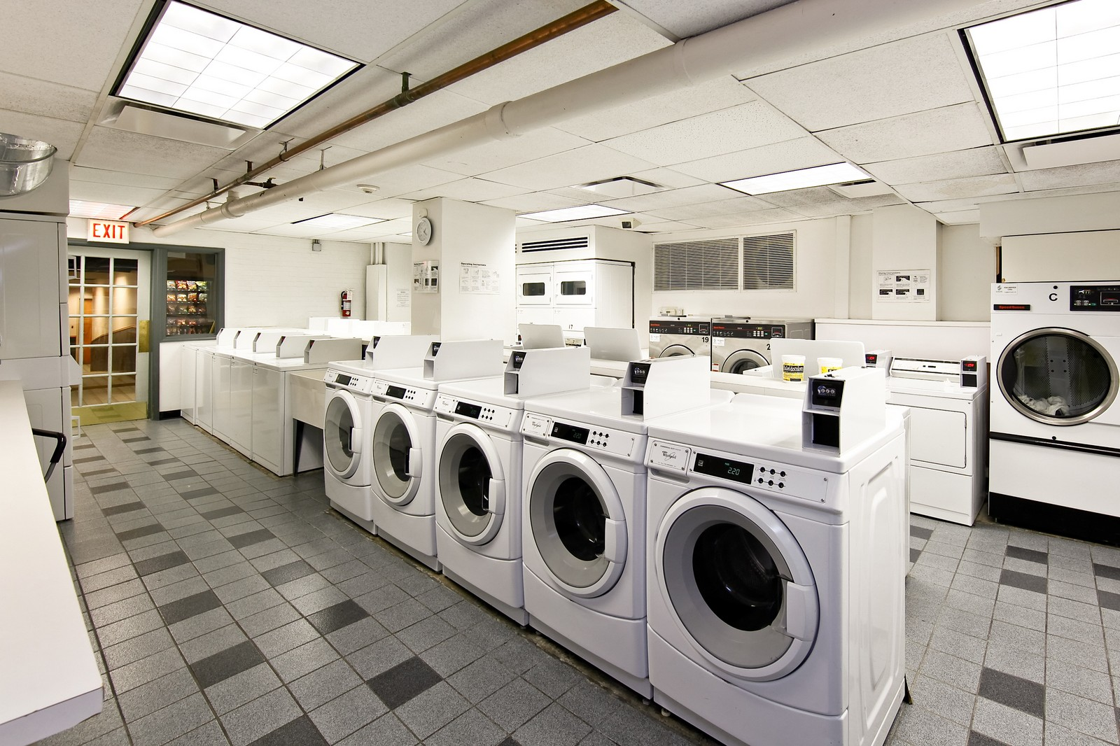 Real Estate Photography - 1400 N Lake Shore Drive, 16E, Chicago, IL, 60610 - Laundry Room