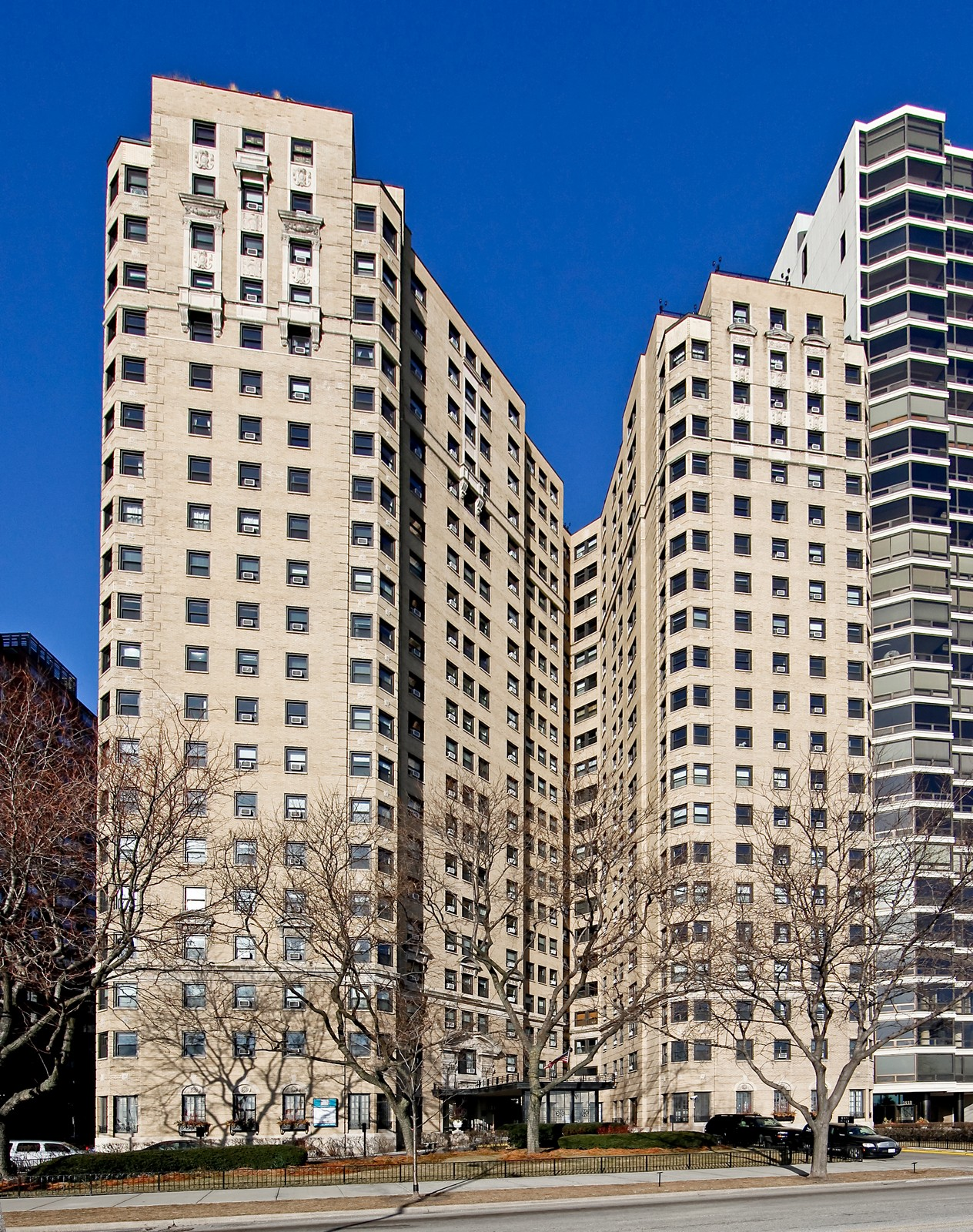 Real Estate Photography - 1400 N Lake Shore Drive, 16E, Chicago, IL, 60610 - Front View