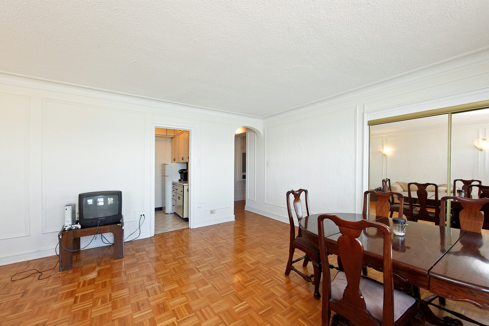 Real Estate Photography - 1400 N Lake Shore Drive, 16E, Chicago, IL, 60610 - Living Room / Dining Room
