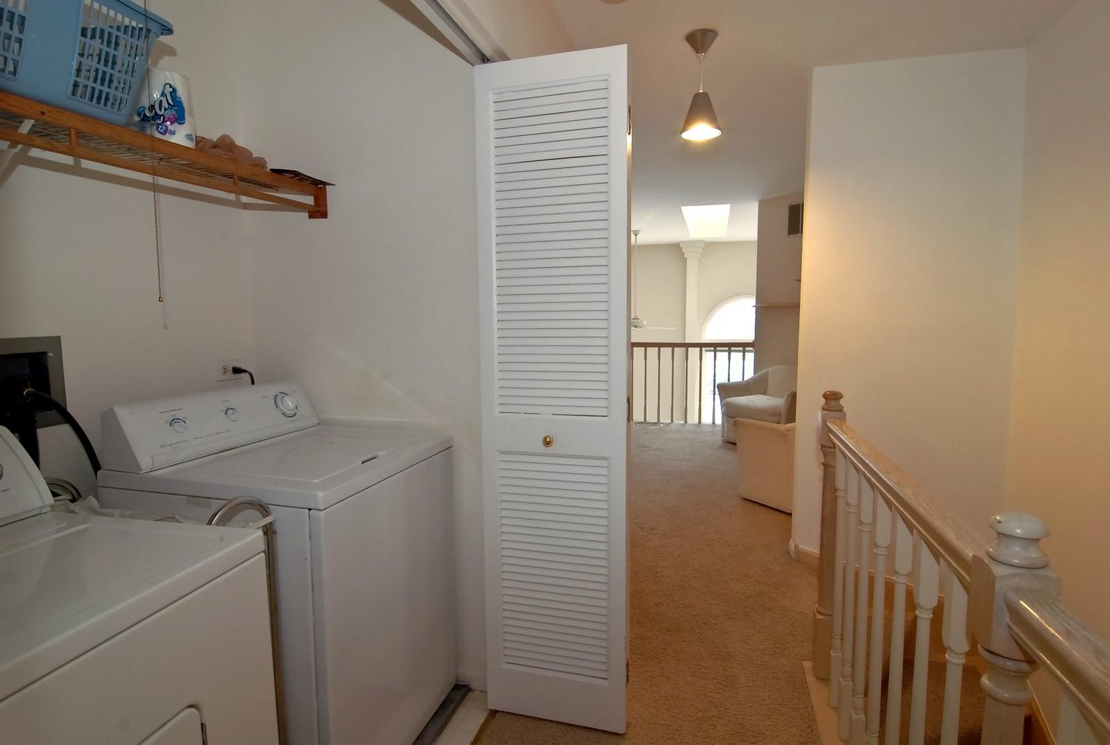Real Estate Photography - 4248 W Harrington Lane, Chicago, IL, 60646 - Laundry Room