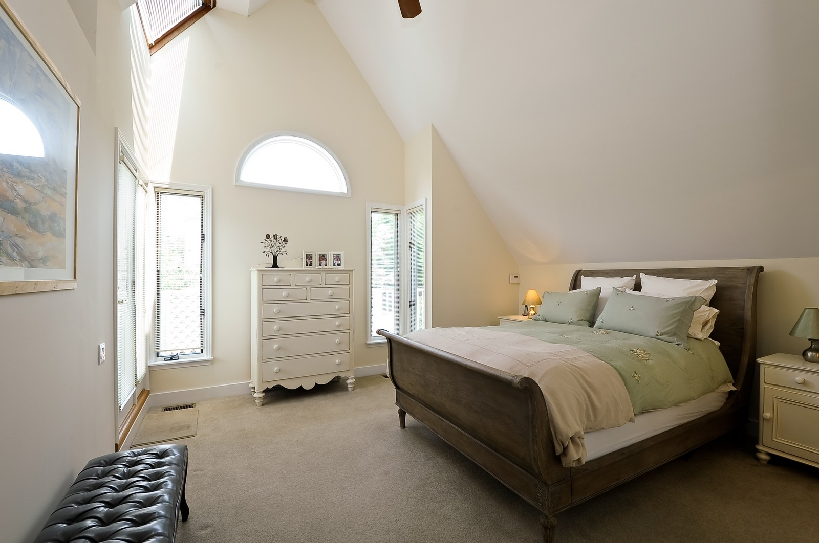 Real Estate Photography - 1144 W. Altgeld, Chicago, IL, 60614 - Master Bedroom