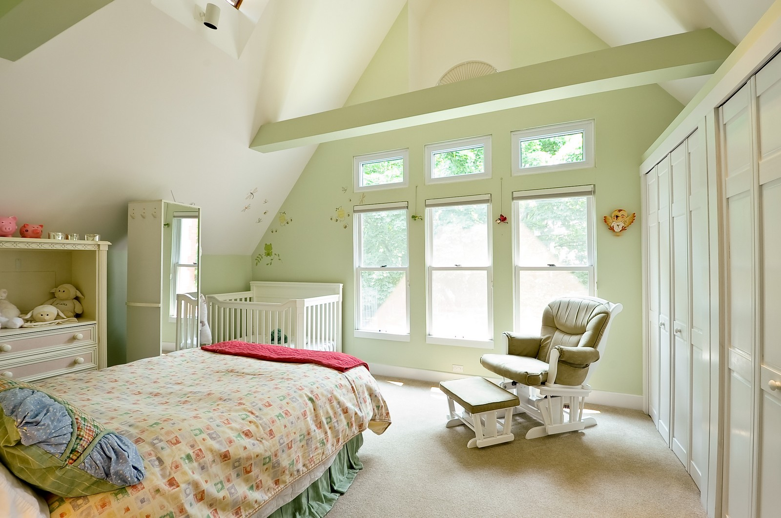 Real Estate Photography - 1144 W. Altgeld, Chicago, IL, 60614 - 3rd Bedroom
