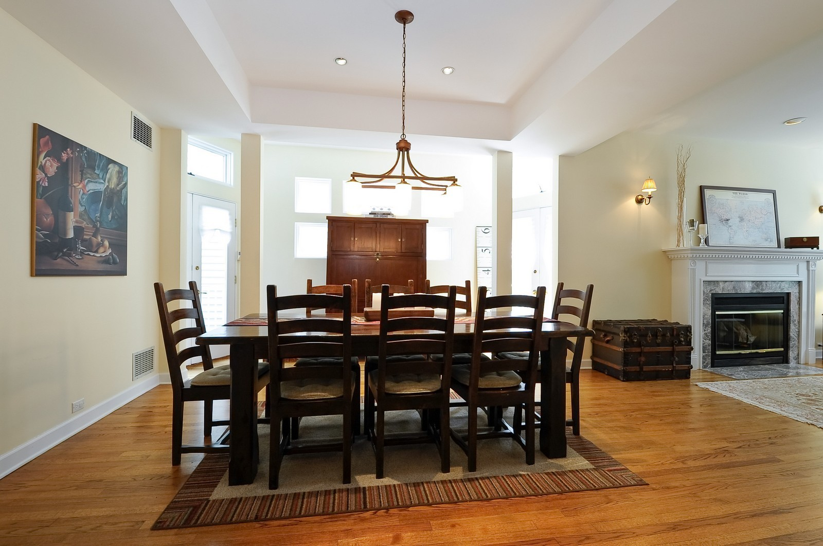 Real Estate Photography - 1144 W. Altgeld, Chicago, IL, 60614 - Dining Room