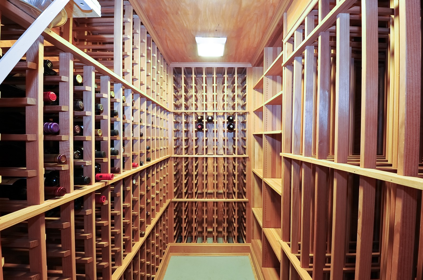 Real Estate Photography - 1144 W. Altgeld, Chicago, IL, 60614 - Wine Cellar