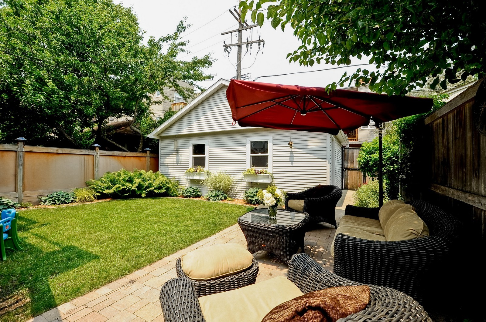 Real Estate Photography - 1144 W. Altgeld, Chicago, IL, 60614 - Back Yard