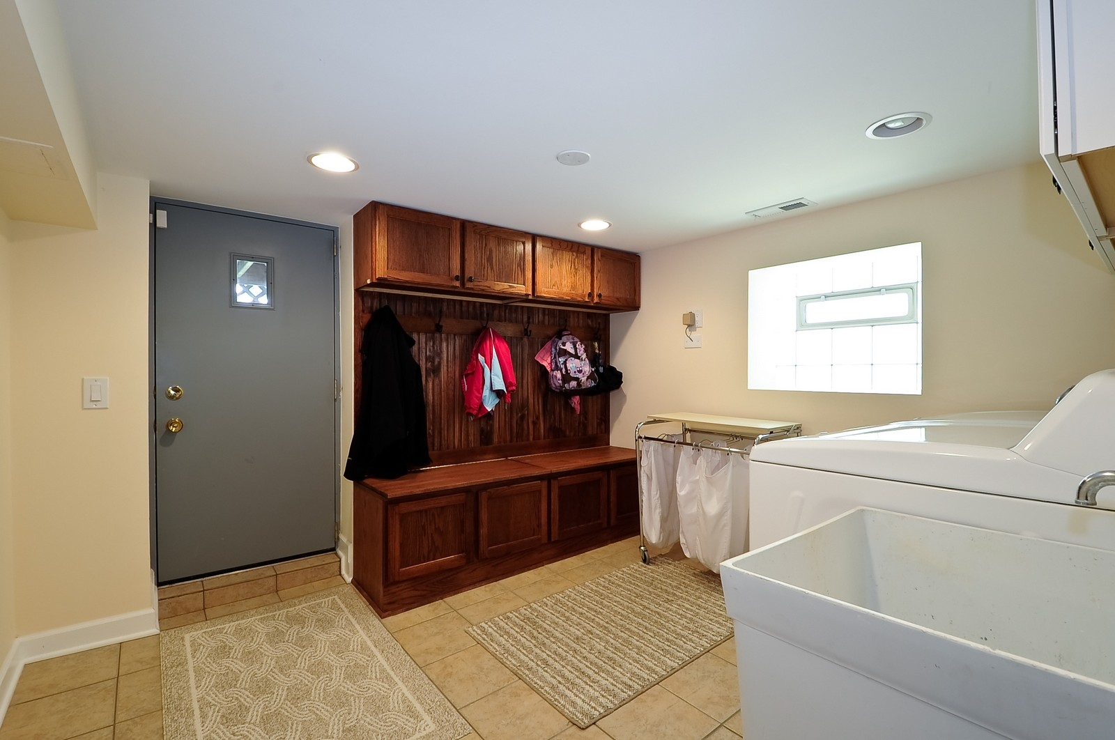 Real Estate Photography - 1144 W. Altgeld, Chicago, IL, 60614 - Laundry Room