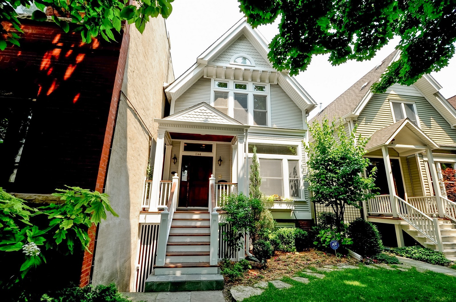 Real Estate Photography - 1144 W. Altgeld, Chicago, IL, 60614 - Front View