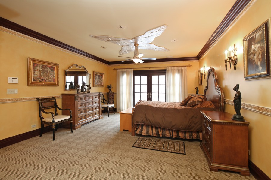 Real Estate Photography - 11315 W 77 Street, Burr Ridge, IL, 60527 - Master Bedroom