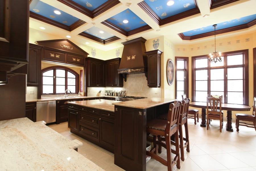 Real Estate Photography - 11315 W 77 Street, Burr Ridge, IL, 60527 - Kitchen / Breakfast Room