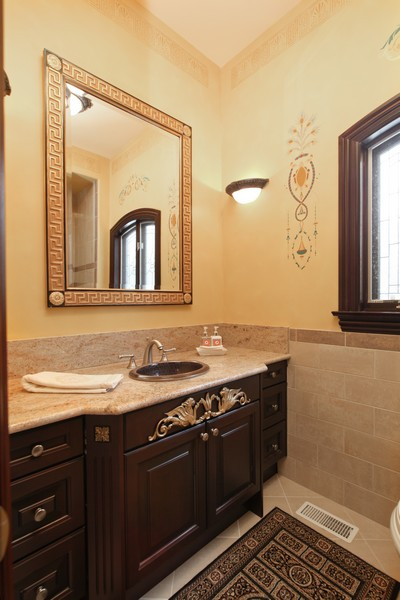 Real Estate Photography - 11315 W 77 Street, Burr Ridge, IL, 60527 - 2nd Bathroom