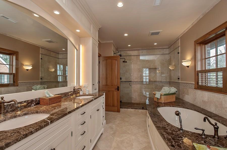 Real Estate Photography - 691 Sheridan Road, Winnetka, IL, 60093 - Master Bathroom