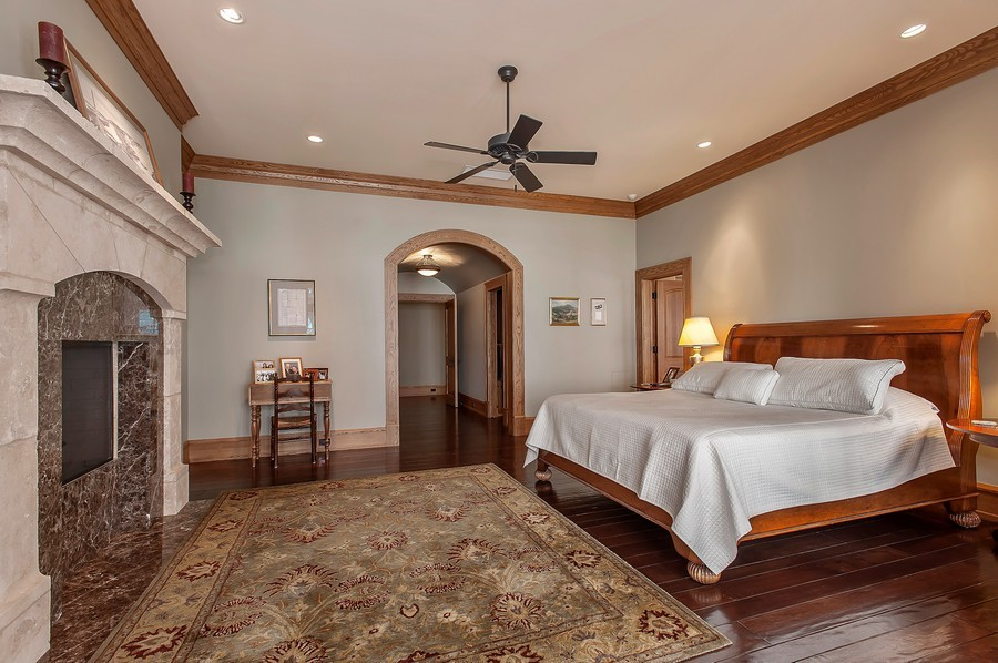 Real Estate Photography - 691 Sheridan Road, Winnetka, IL, 60093 - Master Bedroom