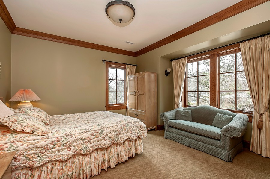 Real Estate Photography - 691 Sheridan Road, Winnetka, IL, 60093 - 2nd Bedroom