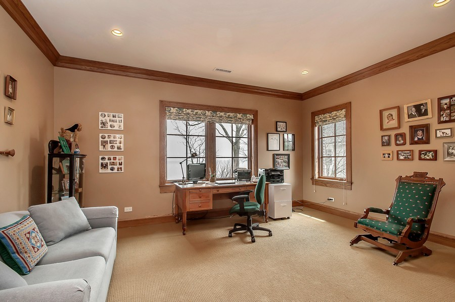 Real Estate Photography - 691 Sheridan Road, Winnetka, IL, 60093 - 3rd Bedroom