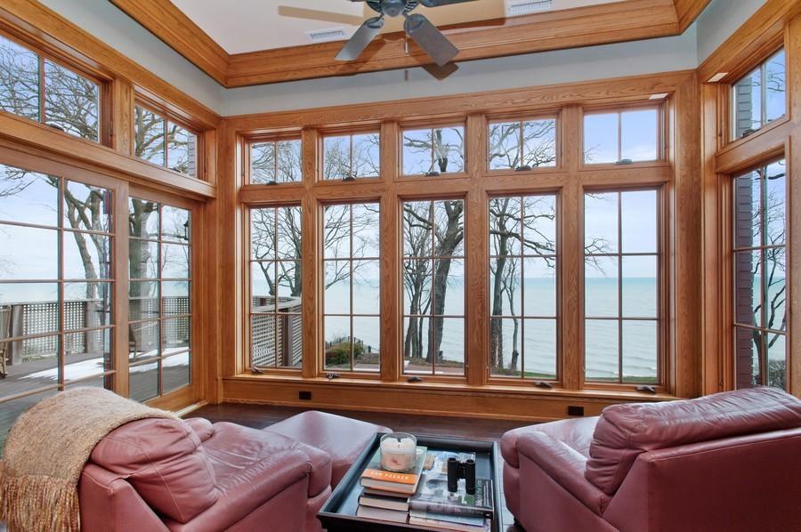 Real Estate Photography - 691 Sheridan Road, Winnetka, IL, 60093 - Master Bedroom