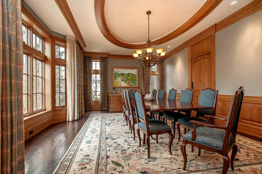 Real Estate Photography - 691 Sheridan Road, Winnetka, IL, 60093 - Dining Room