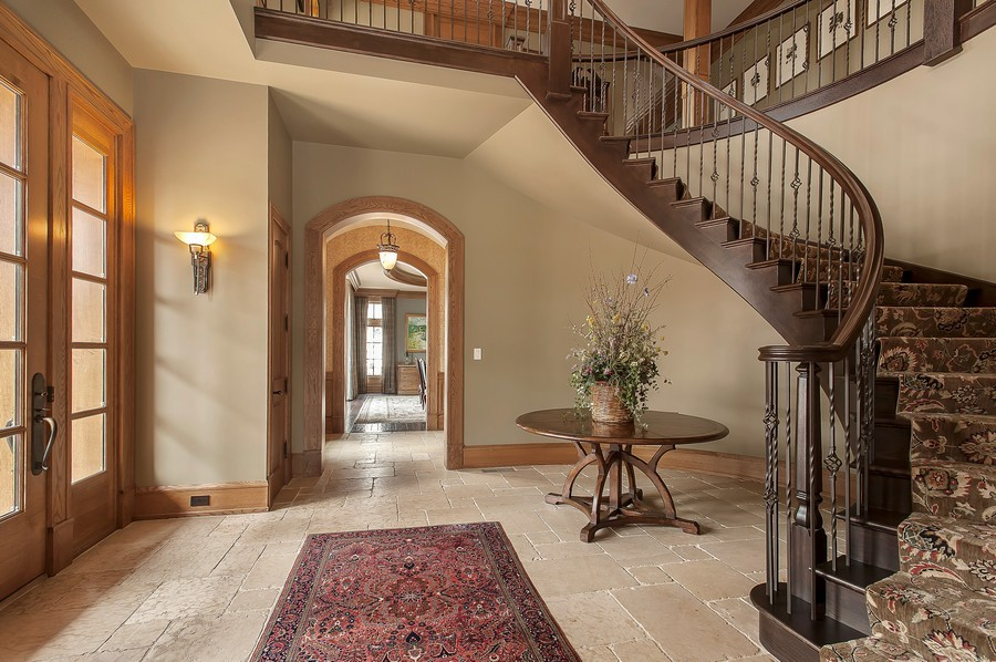 Real Estate Photography - 691 Sheridan Road, Winnetka, IL, 60093 - Foyer