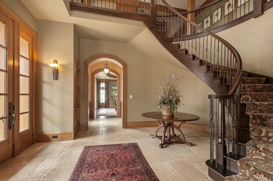 Real Estate Photography - 691 Sheridan Road, Winnetka, IL, 60093 - Foyer