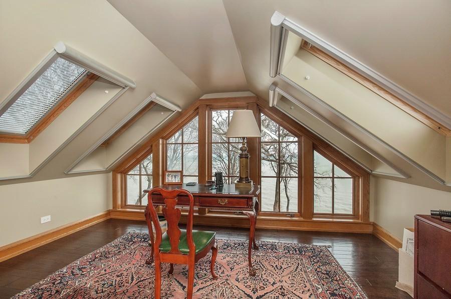 Real Estate Photography - 691 Sheridan Road, Winnetka, IL, 60093 - Office