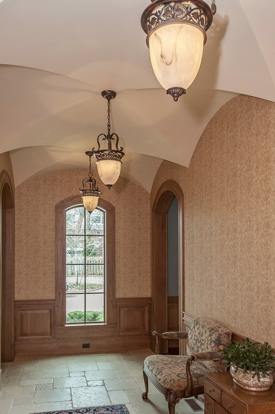 Real Estate Photography - 691 Sheridan Road, Winnetka, IL, 60093 - Hallway