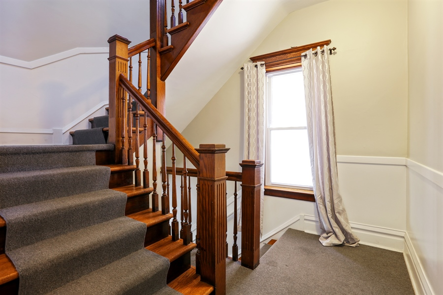 Real Estate Photography - 1310 W. Cornelia, Chicago, IL, 60657 - Staircase