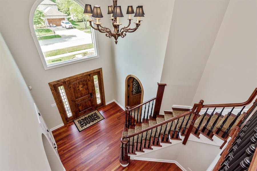 Real Estate Photography - 1040 West Bombay Way, Palatine, IL, 60067 - Foyer