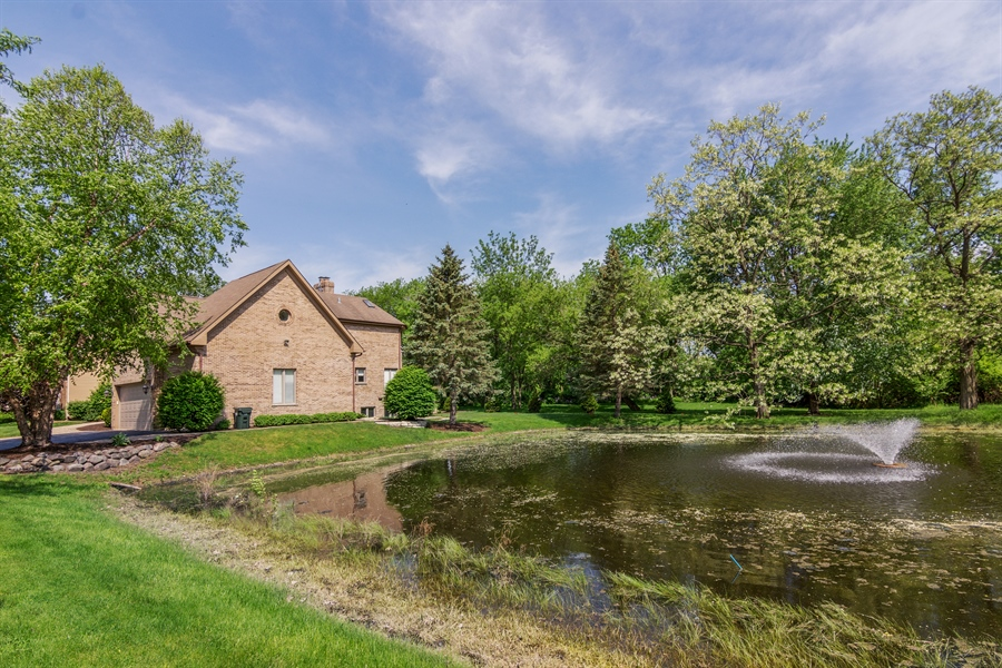 Real Estate Photography - 1040 West Bombay Way, Palatine, IL, 60067 - Pond