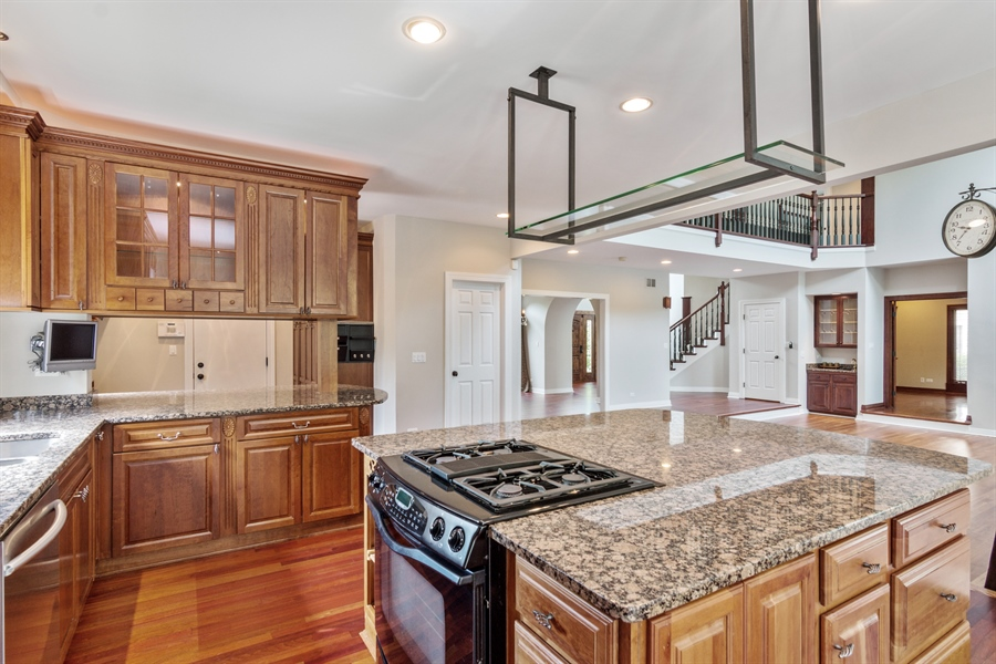Real Estate Photography - 1040 West Bombay Way, Palatine, IL, 60067 - Family Room / Kitchen