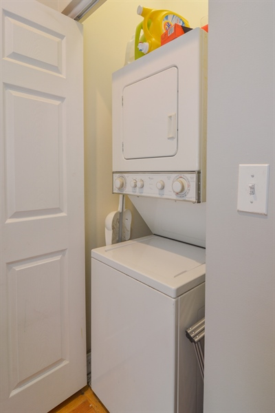 Real Estate Photography - 1942 N Francisco, Unit 2S, Chicago, IL, 60647 - Laundry Room