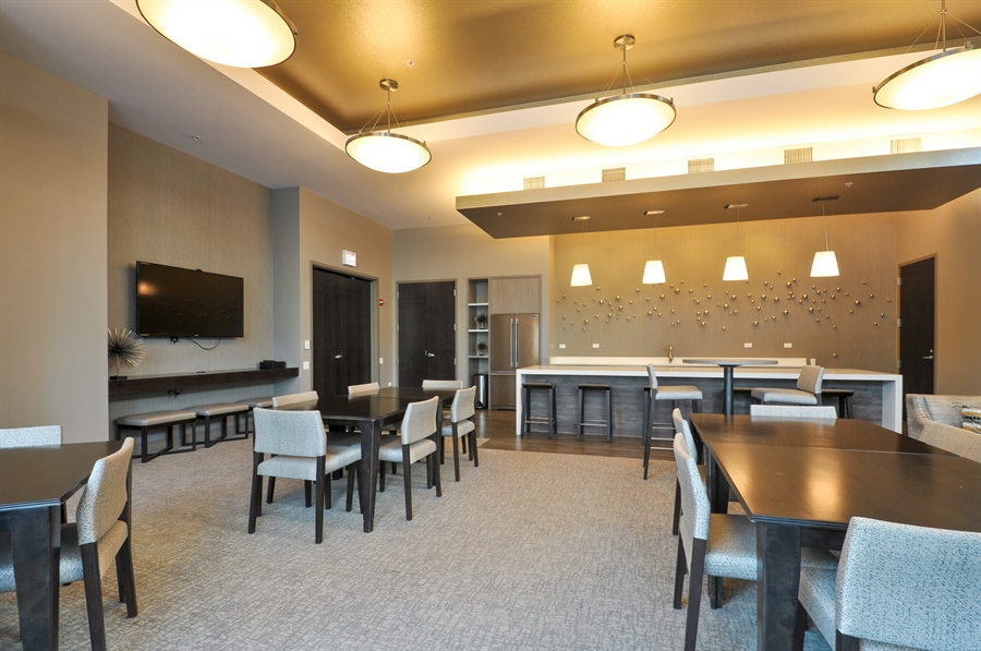Real Estate Photography - 240 E Illinois St, Unit 2107, Chicago, IL, 60611 - Clubhouse
