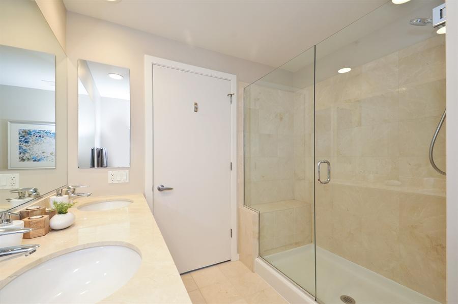 Real Estate Photography - 240 E Illinois St, Unit 2107, Chicago, IL, 60611 - Master Bathroom