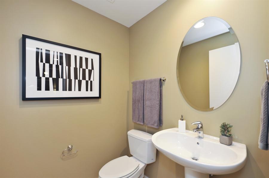 Real Estate Photography - 240 E Illinois St, Unit 2107, Chicago, IL, 60611 - Half Bath