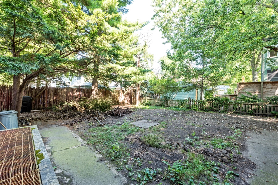 Real Estate Photography - 5526 N Magnolia, 1, Chicago, IL, 60640 - Back Yard
