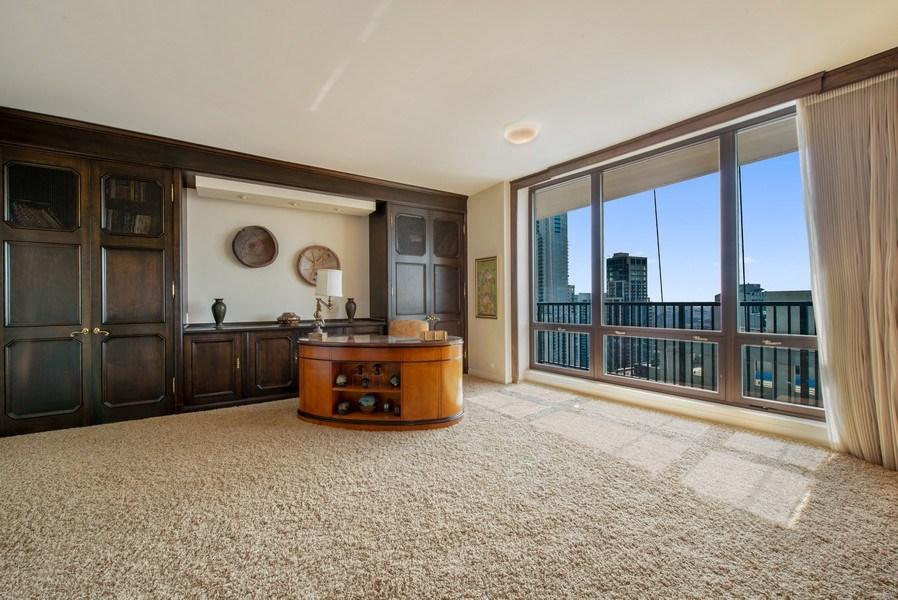 Real Estate Photography - 1040 N. Lake Shore Drive, 36BC, Chicago, IL, 60611 - 3rd Bedroom
