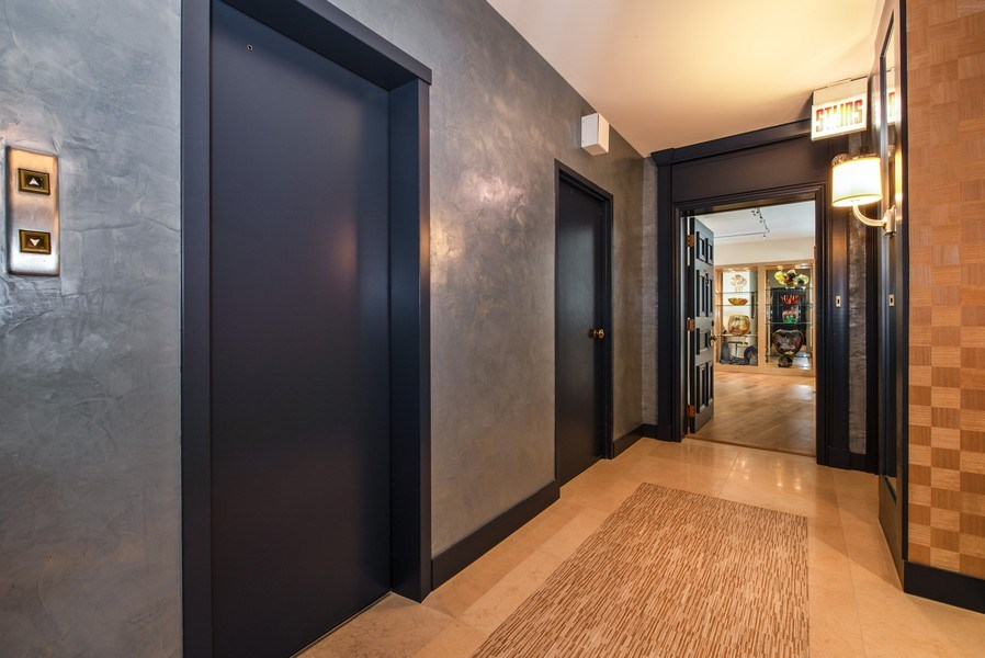 Real Estate Photography - 1040 N. Lake Shore Drive, 36BC, Chicago, IL, 60611 - Entryway