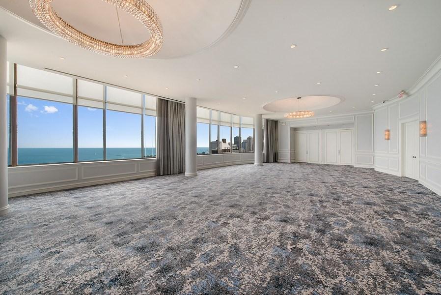 Real Estate Photography - 1040 N. Lake Shore Drive, 36BC, Chicago, IL, 60611 - Ballroom