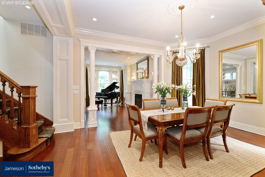 Real Estate Photography - 3440 N Janssen Ave, Chicago, IL, 60657 - Dining room