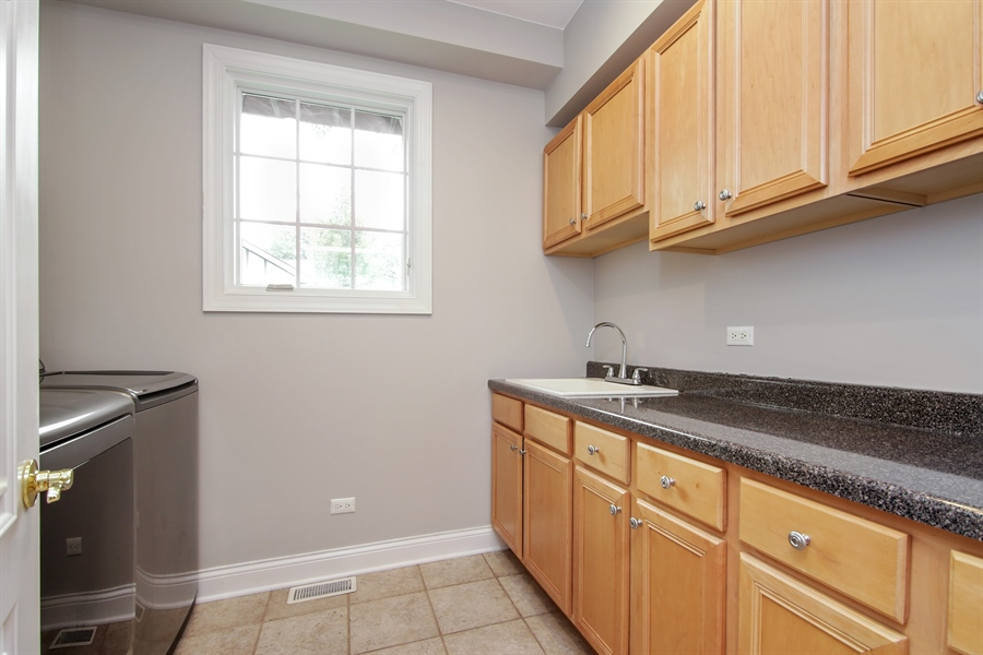 Real Estate Photography - 810 N Maple, Prospect Heights, IL, 60070 - Laundry Room