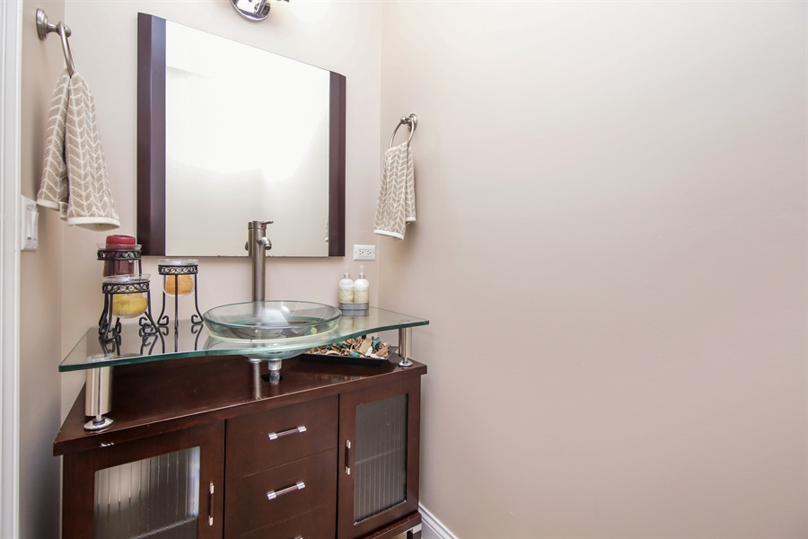 Real Estate Photography - 810 N Maple, Prospect Heights, IL, 60070 - Half Bath