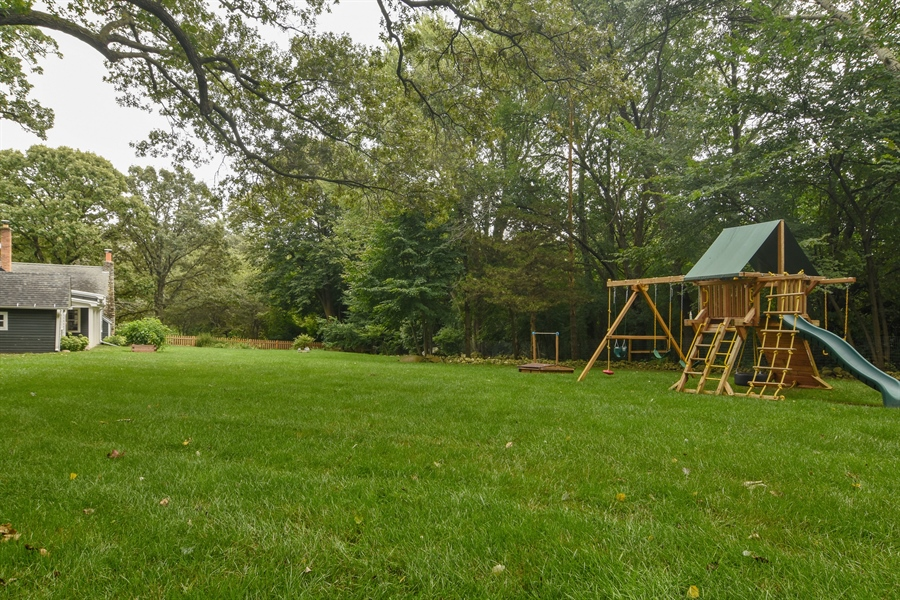 Real Estate Photography - 74 Meadow Hill Rd, Barrington Hills, IL, 60010 - Back Yard