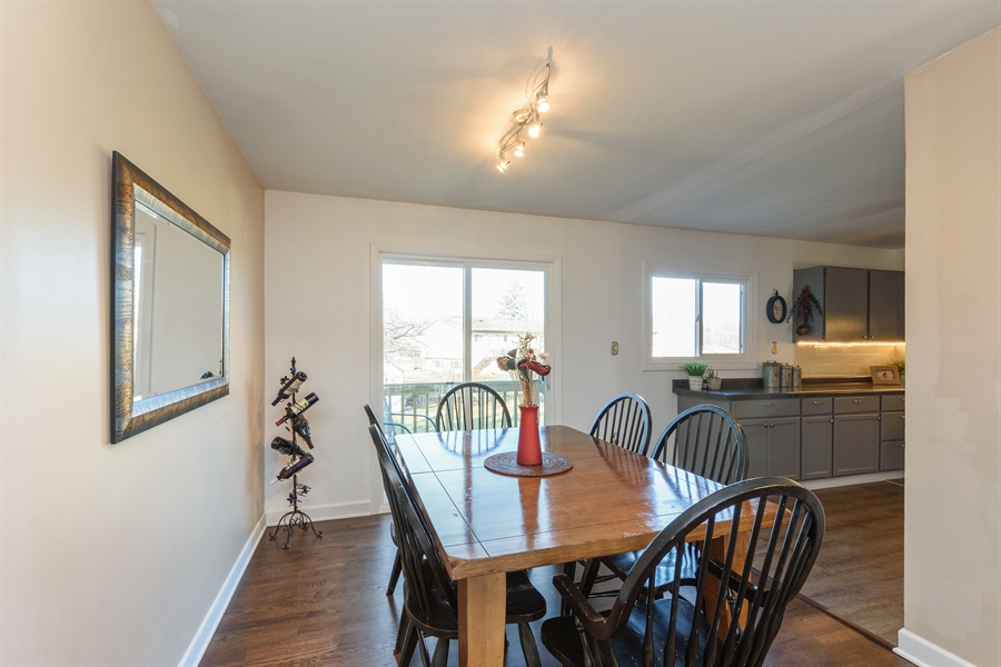 Real Estate Photography - 1450 Gentry, Hoffman Estates, IL, 60169 - Dining Room