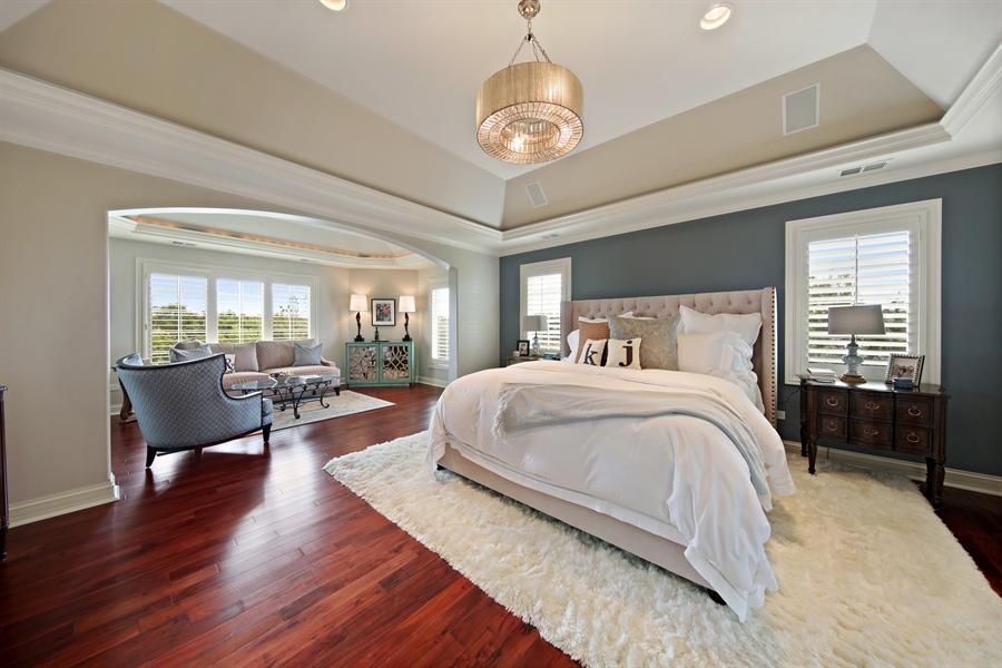 Real Estate Photography - 20021 Alison Trl, Mokena, IL, 60448 - Master Bedroom