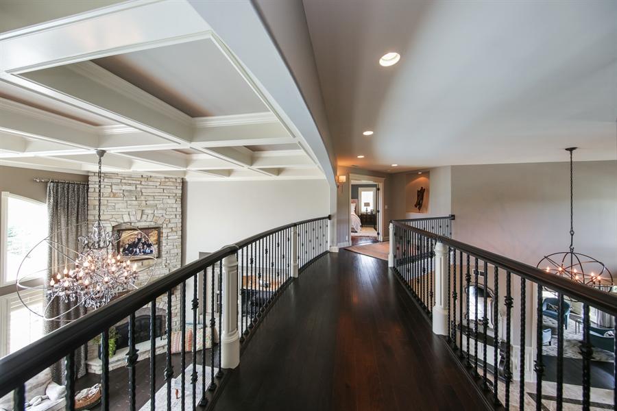 Real Estate Photography - 20021 Alison Trl, Mokena, IL, 60448 - 2nd Floor Corridor