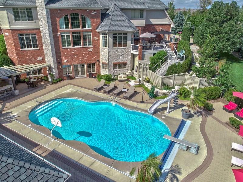 Real Estate Photography - 20021 Alison Trl, Mokena, IL, 60448 - Aerial View