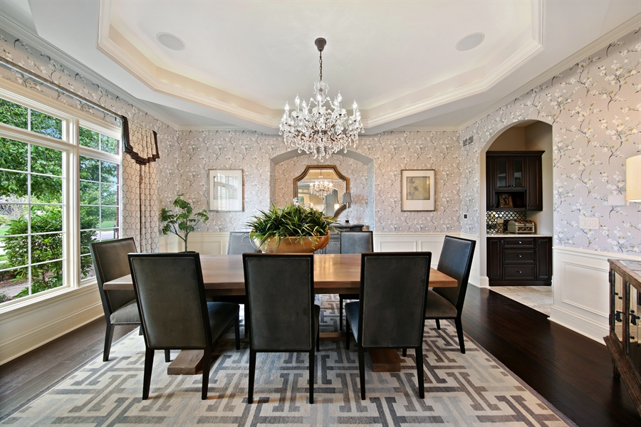 Real Estate Photography - 20021 Alison Trl, Mokena, IL, 60448 - Dining Room