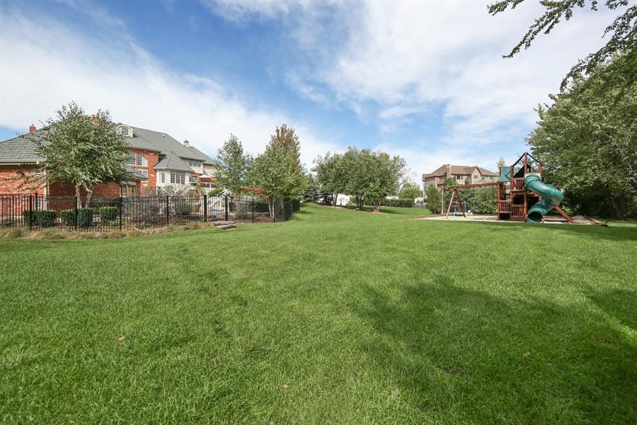 Real Estate Photography - 20021 Alison Trl, Mokena, IL, 60448 - Back Yard