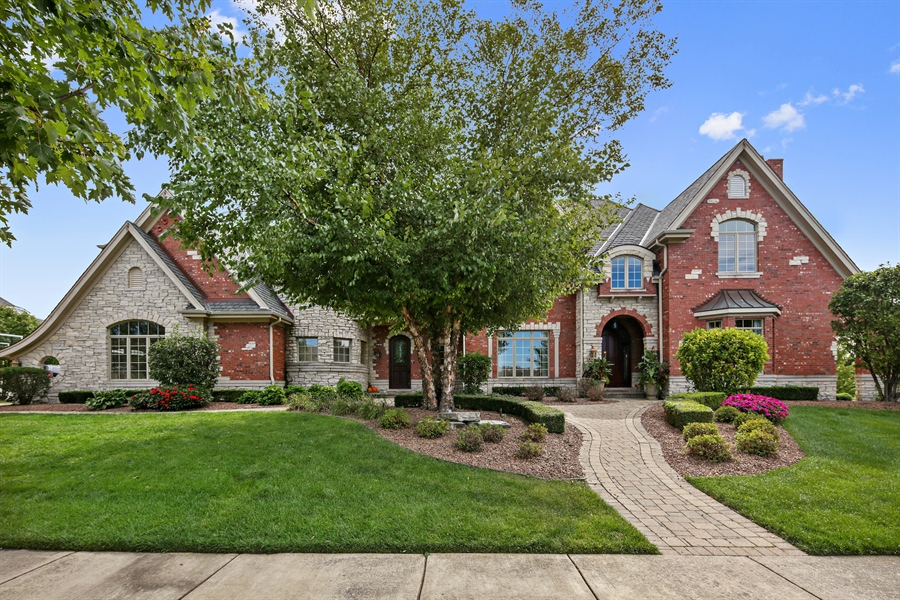 Real Estate Photography - 20021 Alison Trl, Mokena, IL, 60448 - Front View